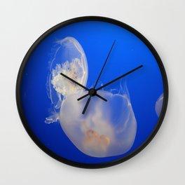 Moon Jelly Wall Clock