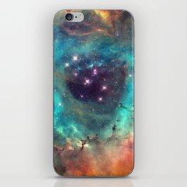 Colorful Nebula Galaxy iPhone Skin
