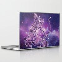 sagittarius Laptop & iPad Skins featuring Sagittarius by WesSide