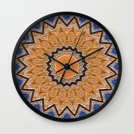 New Mexico Star Wall Clock