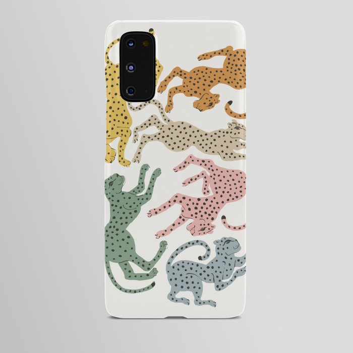 Rainbow Cheetah Android Case