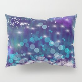 Star and Diamond Rain Pillow Sham