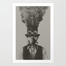 MR STEAMPUNK Art Print