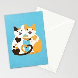 Lovecats Stationery Cards