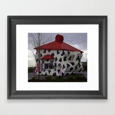 Mocha Cow Framed Art Print