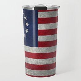 Betsy Ross Flag Travel Mug