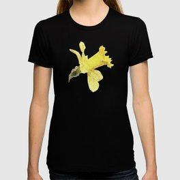 Yellow Daffodil in springtime, watercolor art T-shirt