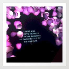 Interactive Floral Pink Art Print