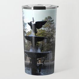Wrapped in Winter Travel Mug