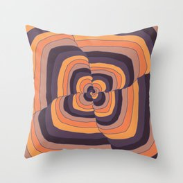 S-piral Throw Pillow