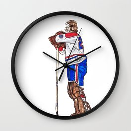 Dryden - The Pose Wall Clock