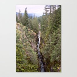 Box Canyon, Cowlitz River, Mount Rainier National Park, Washington Canvas Print