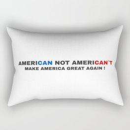 American not American`t Rectangular Pillow