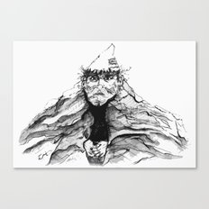 Mtn. Man Canvas Print