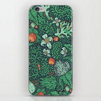 plants iPhone & iPod Skins featuring plants by Jordan Walsh