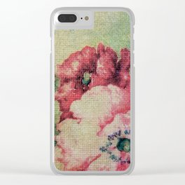 Tapestry - Original Art - Mixed Media Clear iPhone Case