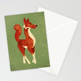 Foxing Around Stationery Cards