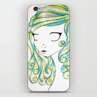 fairy iPhone & iPod Skins featuring Fairy by Caitlin Roberts