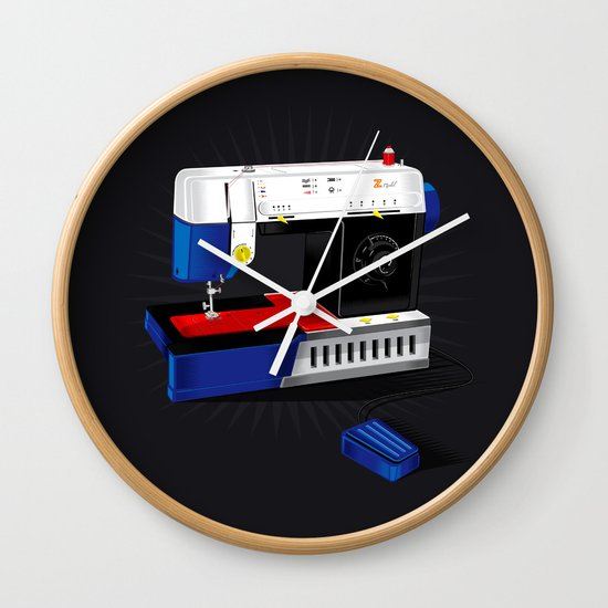 Ma-Singer Wall Clock