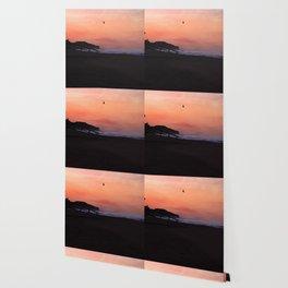 Peach Skies Wallpaper