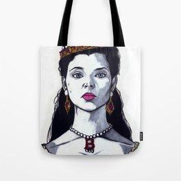 Anne Boleyn - The Tudors TV Character Art Print - Natalie Dormer Tote Bag