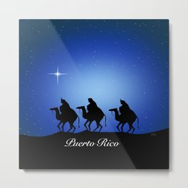 Three Kings Metal Print