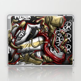 Shoe Poppin Royal Stain Laptop & iPad Skin