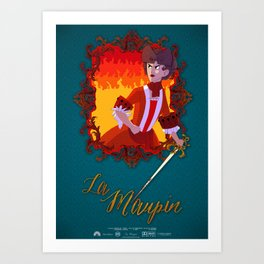 La Maupin Art Print