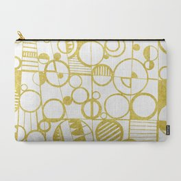 Golden Doodle circles Carry-All Pouch