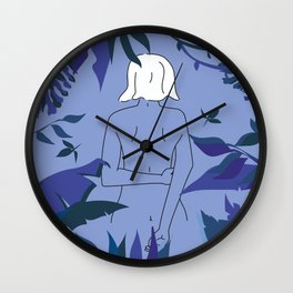 Night walk Wall Clock