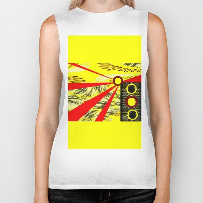 Yellowrange Biker Tank