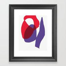 Matisse Shapes 9 Framed Art Print