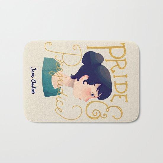Pride and Prejudice Bath Mat