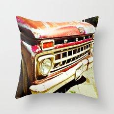 Ford Tough (2) Throw Pillow