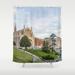 El Prado Museum. Madrid Shower Curtain