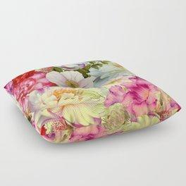 full of flowers Floor Pillow