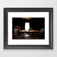 The Governor's Table Framed Art Print