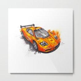 McLaren F1  Metal Print