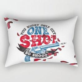 Gemina - One Shot Rectangular Pillow