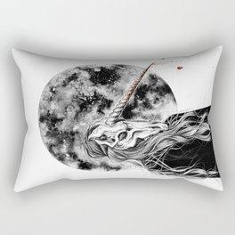 The mask won´t hide your empty heart Rectangular Pillow