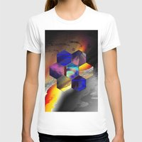 hexagon T-shirts featuring hexagon II by donphil