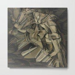Marcel Duchamp's Nude Descending a Staircase, No. 2 Metal Print