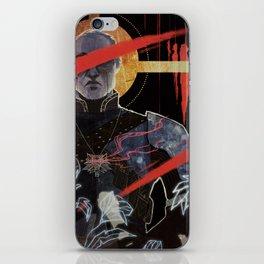 Justice tarot card iPhone Skin