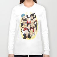 soul eater Long Sleeve T-shirts featuring Soul Eater Meisters and Weapons 02 by renaevsart