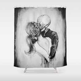 Dead to Me Shower Curtain