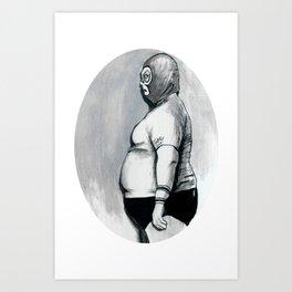 El Fatso Fantastico Art Print
