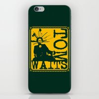 tom waits iPhone & iPod Skins featuring Tom Waits by Silvio Ledbetter