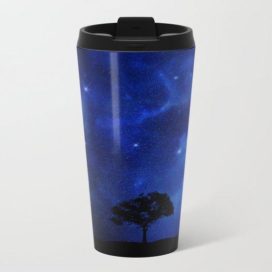 Star dust Metal Travel Mug