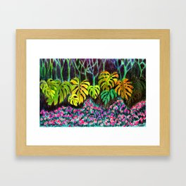 Garden of Eden Framed Art Print