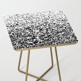 noisy pattern 11 Side Table